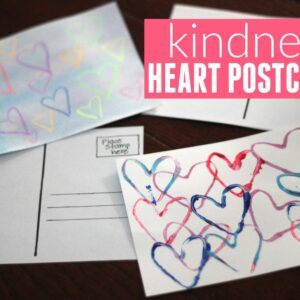 Kindness Heart Postcards