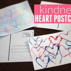 Kindness Heart Postcards