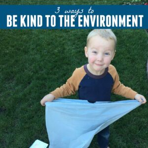 Showing Kindness to the Environment