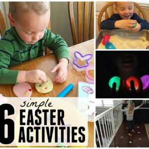 6 Simple Toddler Easter Activities