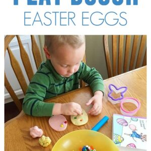 Play Dough Easter Egg Decorating