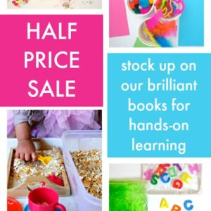 April Toddler Approved Half Price Sale