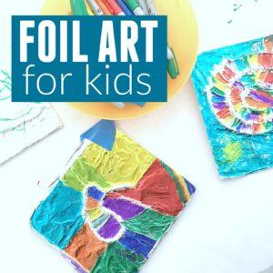 Foil Art for Kids