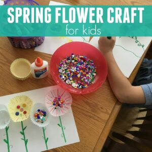 Simple Spring Flower Craft