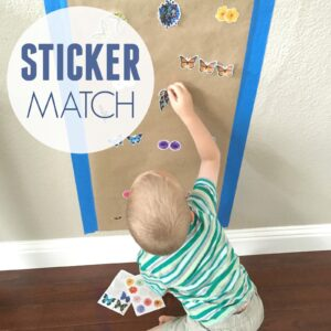 Sticker Match for Preschoolers