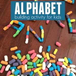 Alphabet Building Activity for Kids