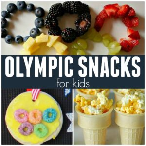 12 Amazingly Easy Olympic Snacks for Toddlers