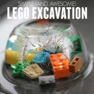 Simple and Awesome LEGO Brick Ice Excavation