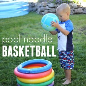 Crazy Silly Pool Noodle Basketball for Kids