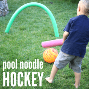 Pool Noodle Hockey for Kids