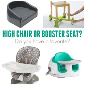 The Best High Chairs and Booster Seats for Kids