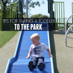 8 Helpful Tips For Taking A Toddler to the Park
