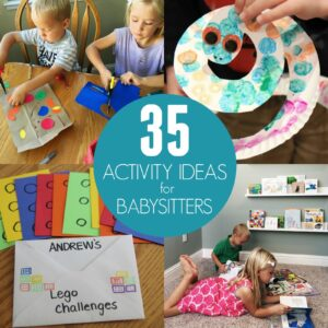35 Easy Activities for Babysitters and UrbanSitter Review