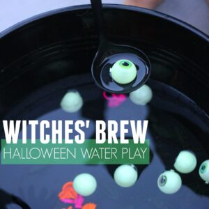 Easy Witches' Brew Halloween Water Play