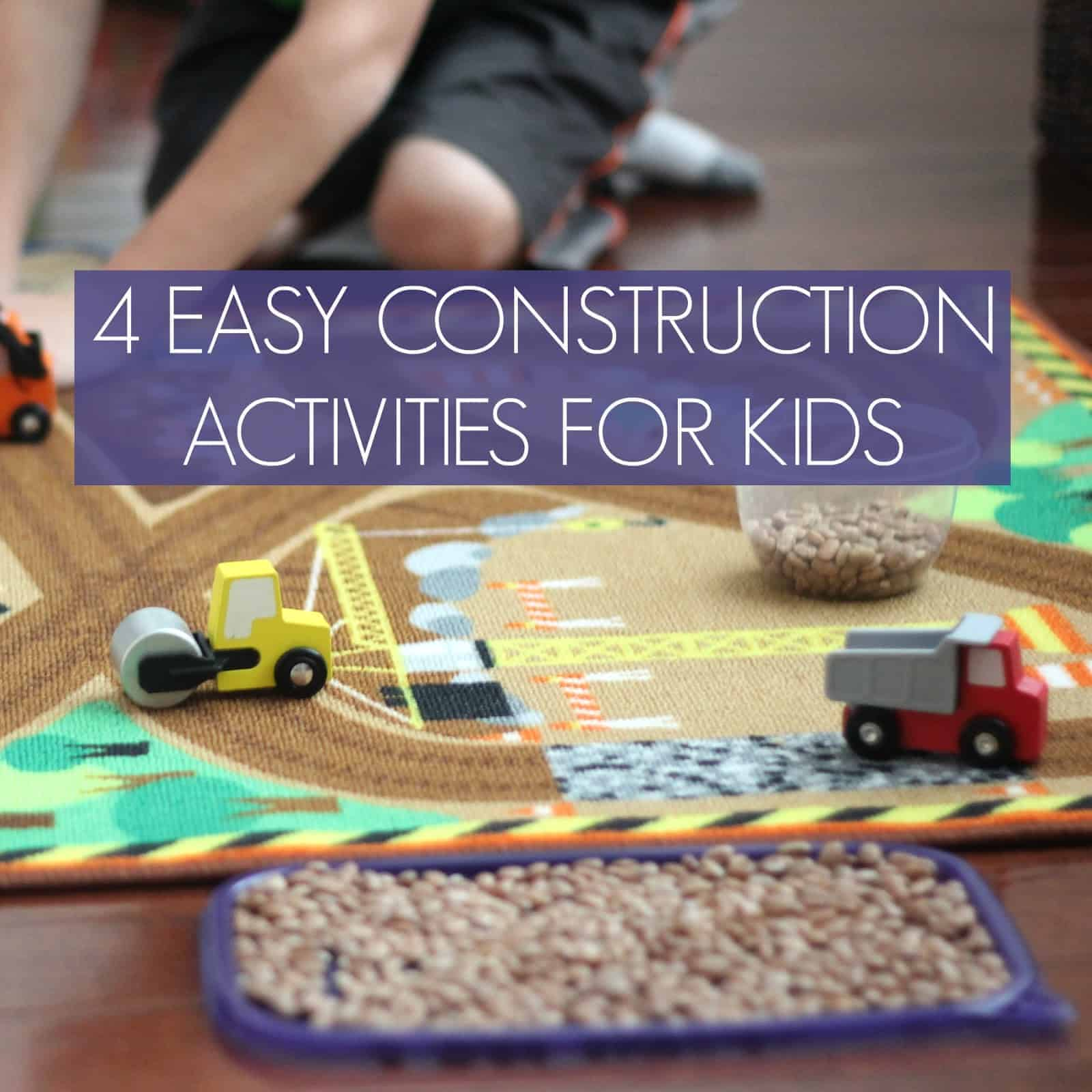 4 Creative Construction Play Ideas For Kids Toddler Approved