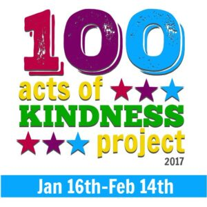 Join our 2017 100 Acts of Kindness Challenge!