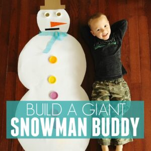 Build a Giant Snowman Buddy