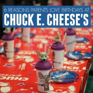 6 Reasons to Love Chuck E. Cheese's Birthday Parties!