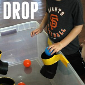 PVC Pipe Ball Drop for Kids