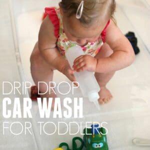 Drip Drop Toddler Car Wash