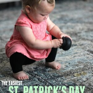 The Easiest St. Patrick's Day Activity for Toddlers