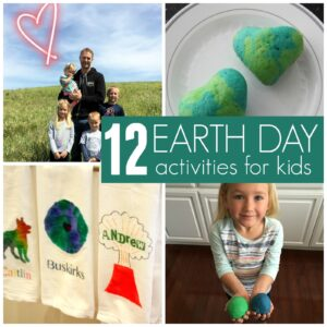 12 Last Minute Earth Day Activities for Kids