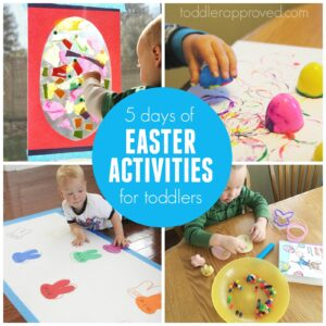 5 Days of Toddler Easter Activities