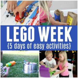LEGO Week {5 Days of Awesome LEGO Activities for Kids}