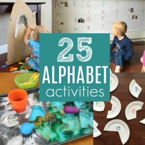 25 Simple Alphabet Activities for Kids