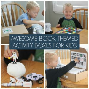 Awesome Book-themed Activity Boxes for Kids!