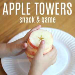 Apple Stack Game and Snack