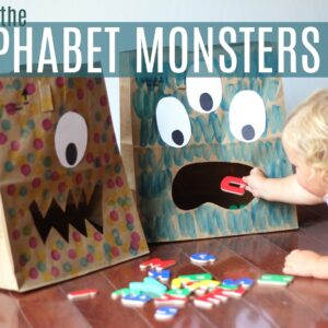 Feed the Alphabet Monsters