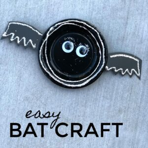 Easy Bat Craft for Kids