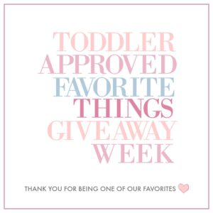 Toddler Approved Favorite Toys & Products for Families