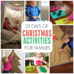 23 Days of Christmas Activities for Families