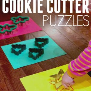 Christmas Cookie Cutter Puzzles for Kids