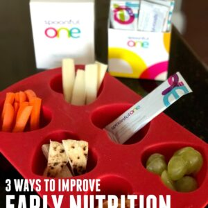 3 Tips to Improve Early Nutrition in Toddlers with SpoonfulOne