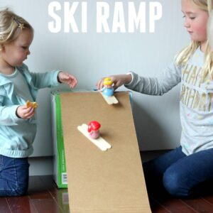 Easy Little People Ski Ramp for Kids