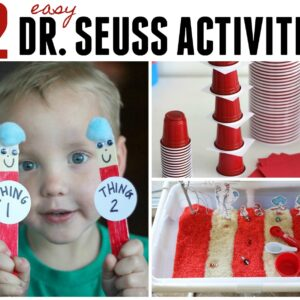 12 Easy Dr. Seuss Activities for Toddlers and Preschoolers