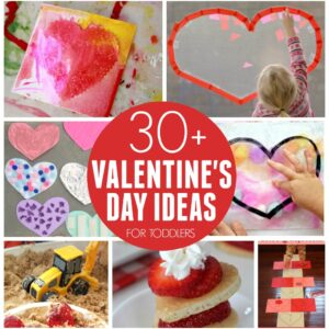 30+ Easy Valentine's Day Activities for Toddlers