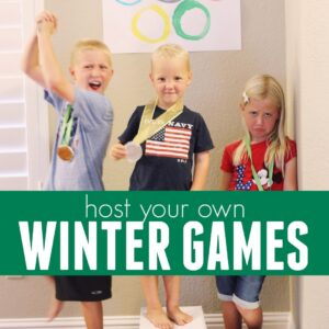 Host Your Own Winter Games for Families