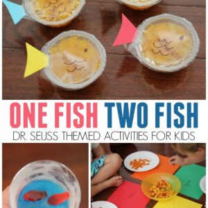 One Fish Two Fish Activities for Kids