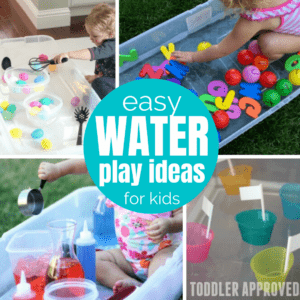 10+ Water Sensory Tub Activities for Toddlers