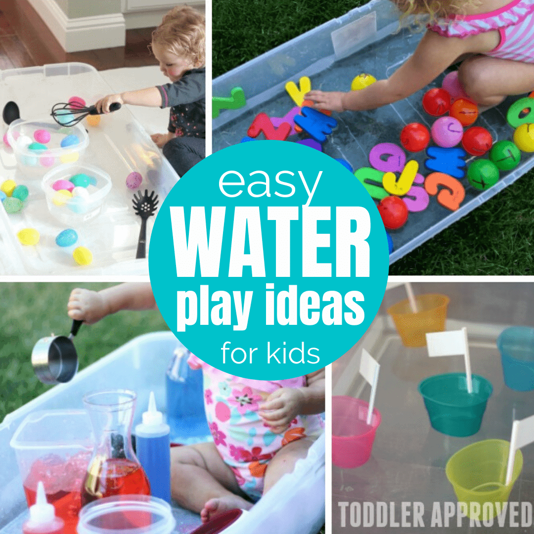 20+ Water Sensory Tub Activities for Toddlers   Toddler Approved