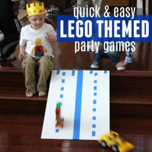 8 Quick & Active LEGO Brick Themed Party Games