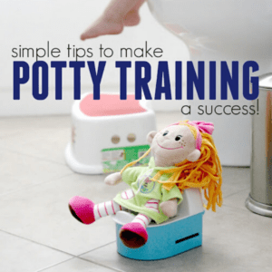 4 Ways to Make Potty Training A Success