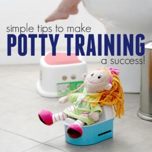 4 Ways to Make Potty Training A Success