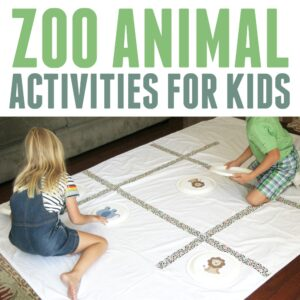 Zoo Animal Activities for Toddlers and Preschoolers