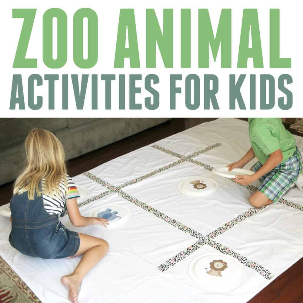 Zoo Animal Activities for Toddlers and Preschoolers ...
