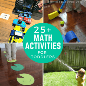25+ Hands-On Math Activities for Toddlers